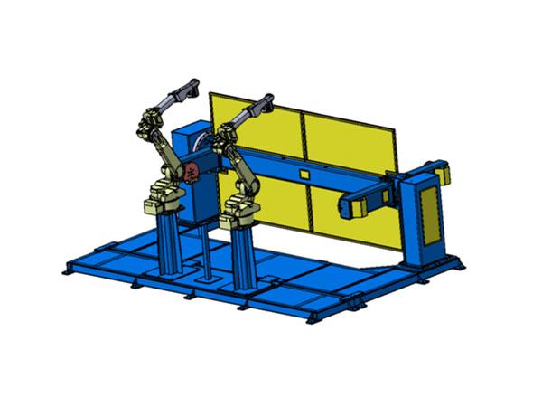 机器人垂直三轴焊接变位机